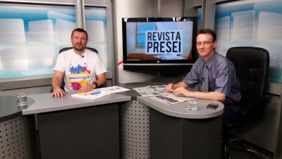 RO promotion of the project on radio and TV
